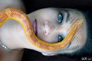 Jane und die Schlange
